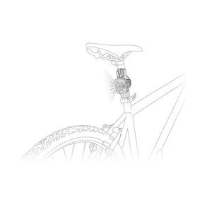 adaptor Petzl bicicletă adapta E000AA00, Petzl