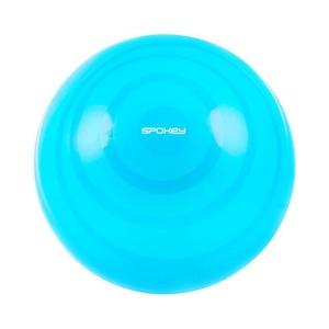 gimnastic minge Spokey fitball FLEX 55 cm inclusiv pompă turcoaz, Spokey