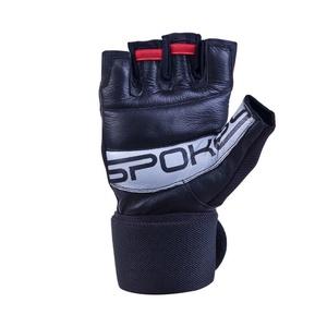 fitness manusi Spokey TORO (II) negru-rosu, Spokey