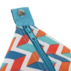 plajă termo sac Spokey SAN REMO albastru zigzag, 52 x 20 x 40 cm, Spokey