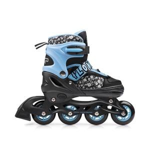 skates patine Spokey cuier albastru, Spokey