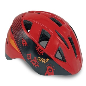 copii bicicliștii cască Spokey CHERUB red, 44-48 cm, Spokey