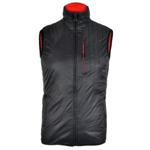 pentru bărbați vesta Silvini TICINO MJ1104 negru-rosu, Silvini