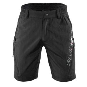Pentru bărbaţi MTB ciclism pantaloni Silvini MAGO MP858 negru, Silvini