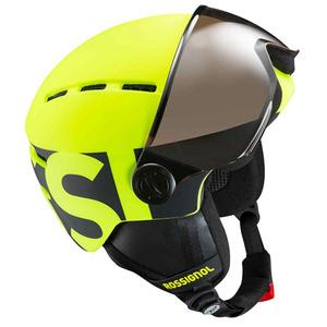 schi cască Rossignol vizieră Jr-neon galben / negru RKGH500, Rossignol