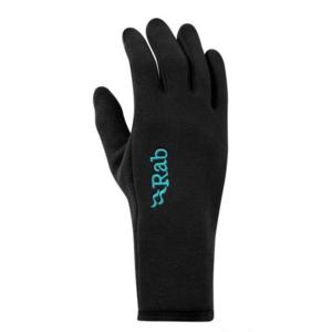 mănuși Rab Putere întinde contact mănușă femei negru / bl, Rab