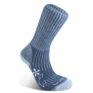 șosete Bridgedale excursie pe jos Midweight merinos confort cizmă femei blue/436, bridgedale