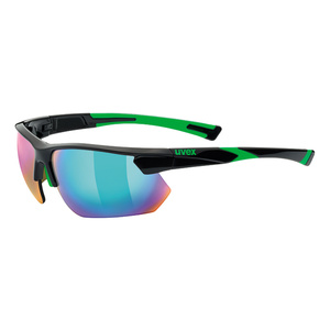 sport ochelari Uvex Stil Sport 221, Negru verde (2716), Uvex