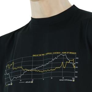 Pentru bărbaţi cămașă Sensor COOLMAX FRESH PT TRACK negru 17200048, Sensor