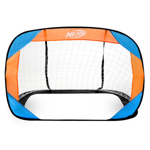 selfdeployable fotbal portiță Spokey HASBRO pavăză NERF 2 ks albastru-portocaliu, Spokey