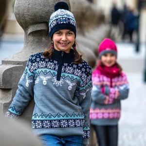 copilăresc merinos pulover Kama 1012 108, Kama