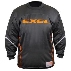 portar jersey EXEL S100 Goalie JERSEY negru / portocaliu, Exel