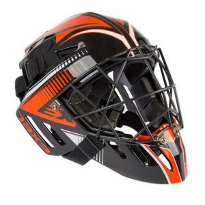 portar cască EXEL S100 CASCA senior negru / portocaliu, Exel