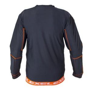 Golmanský jersey EXEL S100 PROTECȚIA SHIRT negru / portocaliu, Exel
