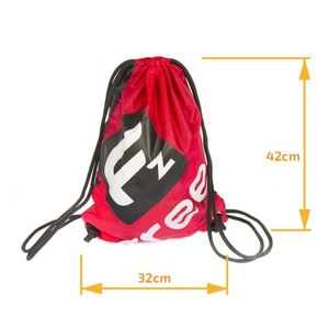sac FREEZ VERSO Gymsack BLACK-RED, Freez