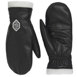 Femeii din piele mănuși cu un deget Kari Traa Himl Negru, Kari Traa