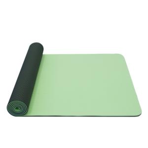 mașină de spălat pe yoga YATE yoga șah-mat dublu strat / verde / material TPE, Yate
