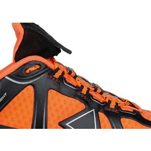 Pentru bărbaţi cruce țară pantofi RaidLight dinamic ultraușoare Black / Orange, Raidlight
