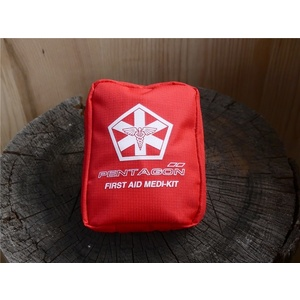 Trusă de prim ajutor PENTAGON® Hipocrate Medikit red, Pentagon