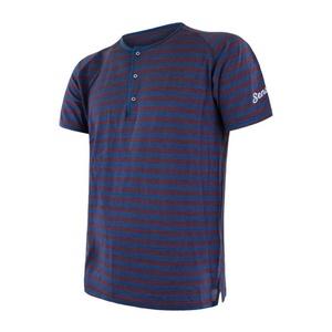 Pentru bărbaţi cămașă Sensor SENSOR MERINO AIR PT albastru / visiniu 18200012, Sensor