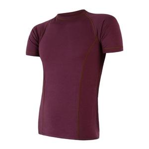 Pentru bărbaţi cămașă Sensor MERINO AIR tm. burgundia 18200001, Sensor