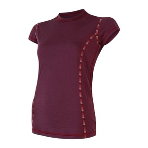 Femeii cămașă Sensor MERINO AIR tm. burgundia 18200005, Sensor