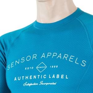 Pentru bărbaţi cămașă Sensor MERINO DF LABEL albastru 18200017, Sensor