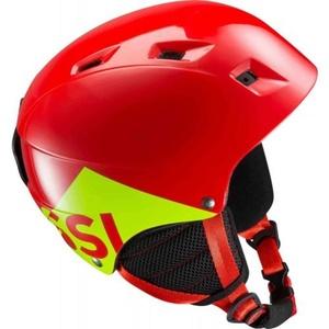 schi cască Rossignol Comp (J) roșu RKGH508, Rossignol