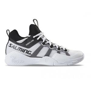 Salming cobră la mijlocul 2 pantof bărbaţi Alb / Negru, Salming