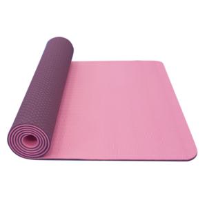 mașină de spălat pe yoga YATE yoga șah-mat dublu strat / roz / violet / material TPE, Yate