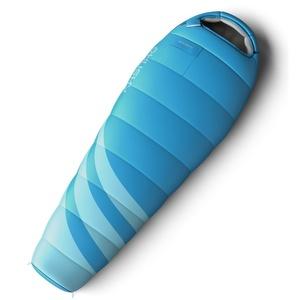 set dormit sac Husky Femei maiestate -10°C albastru + izopren Husky coardă 1,8 albastru gratuit, Husky