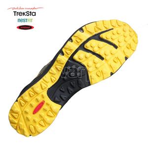 Pantofi Treksta modifica ego-ul om negru / galben, Treksta