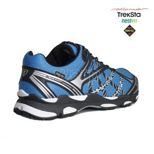 Pantofi Treksta Sincronizare GTX om negru / albastru, Treksta