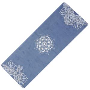 mașină de spălat pe yoga YATE yoga șah-mat natural cauciuc / model C / albastru, Yate