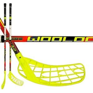 floorball stick-ul WOOLOC WINNER 3.2 roșu 87 ROUND NB '16, Exel